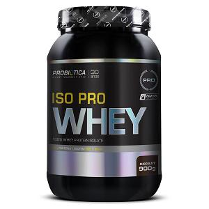 Iso Pro Whey Sabor Morango (900g) - Probiótica
