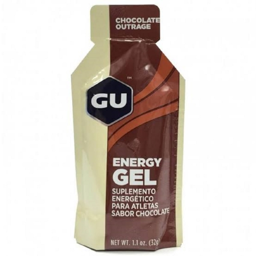 Gu Energy Gel Mr. Tuff Sabor Chocolate (1 unidade de 32g) - Gu Energy