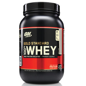 100% Whey Protein Gold Standard - Cookies - 909g - Optimum Nutrition