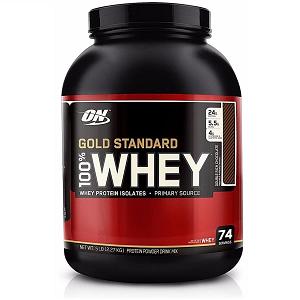 100% Whey Protein Gold Standard Optimum Nutrition - Morango - 2.270g