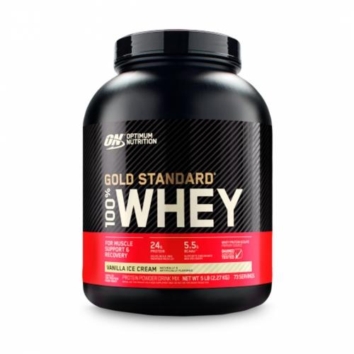 100% Whey Protein Gold Standard Sabor Baunilha (2.270g) - Optimum Nutrition