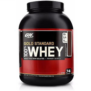 100% Whey Protein Gold Standard - Cookies - 2.270g - Optimum Nutrition