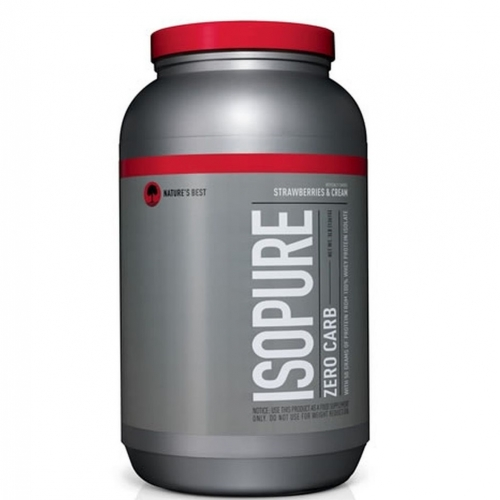 Zero Carb ISOPURE Perfect Nature's Best Morango - 1.361 g