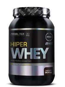 Hiper Whey Millennium Probiótica Chocolate - 900 g validade 10/2018