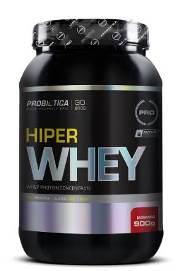 Hiper Whey Millennium Probiótica Morango - 900 g