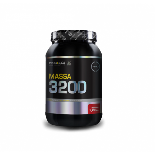 Massa 3200 Anti-Catabolic Sabor Chocolate (1,68 kg) - Probiótica