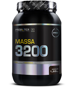 Massa 3200 Anti-Catabolic Sabor Chocolate (1,68 kg) - Probiótica