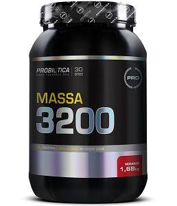 Massa 3200 Anti-Catabolic Sabor Morango (1,68 kg) - Probiótica