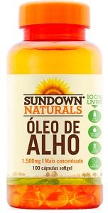 Óleo de Alho 1500 Sundown - 100 Cápsulas
