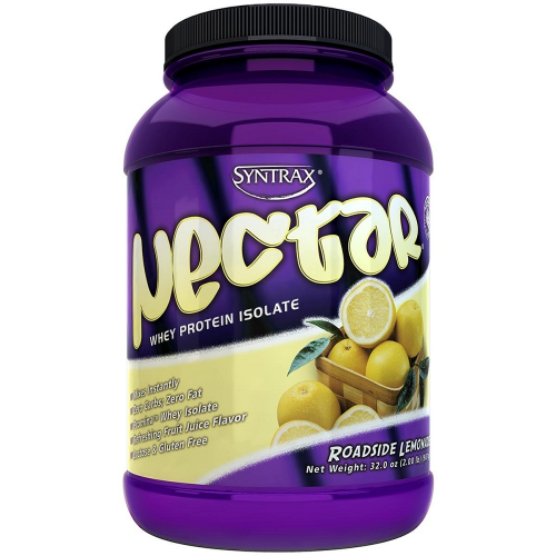 Nectar Whey Protein Isolado Syntrax Lemon Tea - 907 g