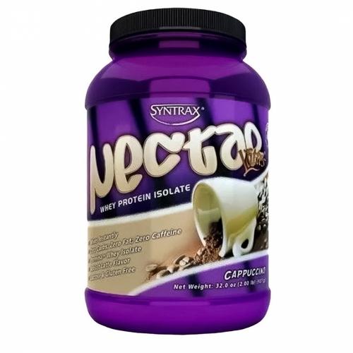 Nectar Whey Protein Isolado Sabor Capuccino (907g) - Syntrax