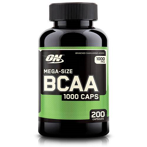 BCAA Optimum Nutrition / BCAA 1000 Optimun Nutrition - 200 Cápsulas