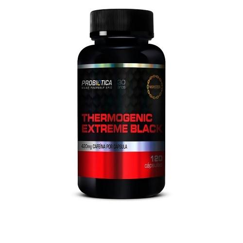 Thermogenic Extreme Black (120 Cápsulas) - Probiótica