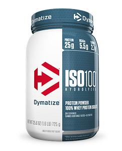 Whey Protein Hydrolized Iso 100 Dymatize - Morango - 733g