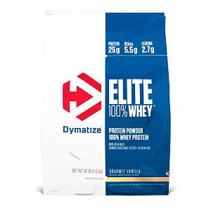 Elite Whey Protein - Dymatize Morango - 4.5Kg