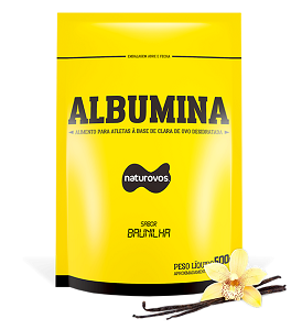 Albumina Naturovos - Baunilha - 500g