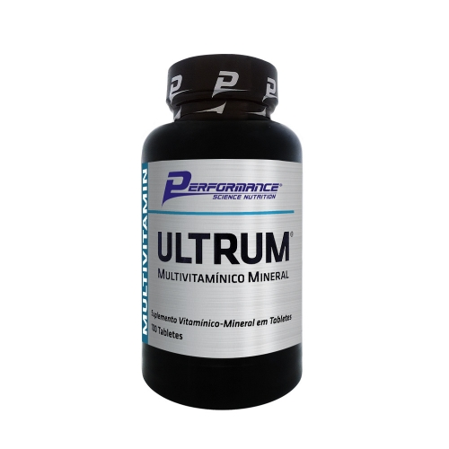 Ultrum Multivitamínico Mineral (100 Tabletes) - Performance Nutrition
