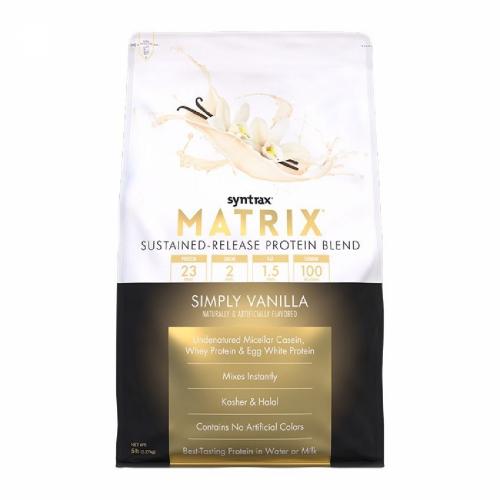 Matrix 5.0 Sabor Baunilha (2.270g) - Syntrax