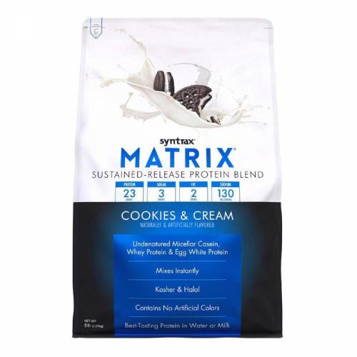 Matrix 5.0 Sabor Cookies & Cream (2.270g) - Syntrax