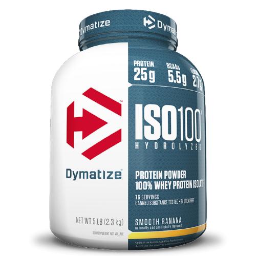 Whey Protein Hydrolized Iso 100 Sabor Baunilha (2,3Kg) - Dymatize