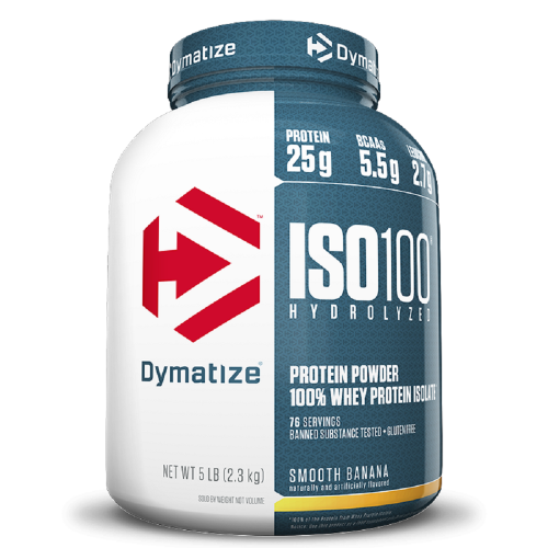 Whey Protein Hydrolized Iso 100 Sabor Morango (2,3Kg) - Dymatize