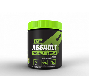 Assault Sabor Morango (300g) - Muscle Pharm