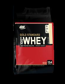 100% Whey Protein Gold Standard - Baunilha - 4.545 g - Optimum Nutrition
