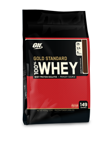 100% Whey Protein Gold Standard - Chocolate - 4.545 g - Optimum Nutrition