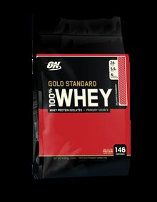 100% Whey Protein Gold Standard - Morango - 4.545 g - Optimum Nutrition