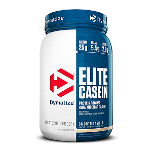 Elite Casein 907g Chocolate - Dymatize