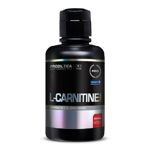 L Carnitina 2000 Probiótica 400 ml - Açaí