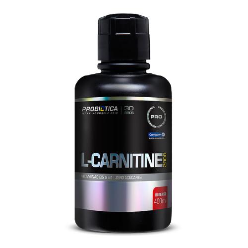 L Carnitina 2000 Probiótica 400 ml - Pêssego
