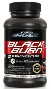 Black Burn Nutrilatina AGE - 120 Cápsulas
