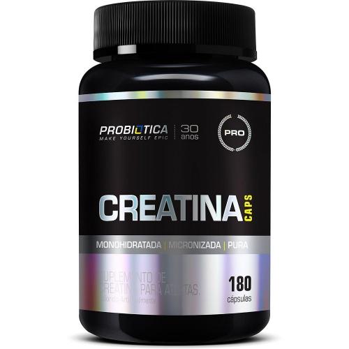 Creatina (180 Cápsulas) -  Probiótica