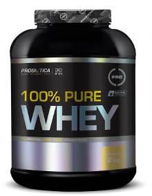 100% Pure Whey Protein Probiótica Baunilha - 2Kg