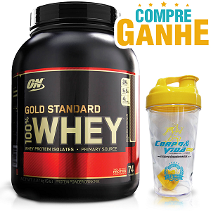 100% Whey Protein Gold Standard Optimum Nutrition - Banana - 2.270g