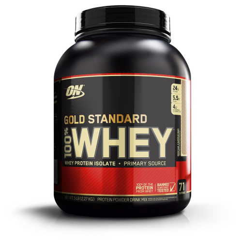 100% Whey Protein Gold Standard Optimum Nutrition - Chocolate c/ Menta- 2.270g