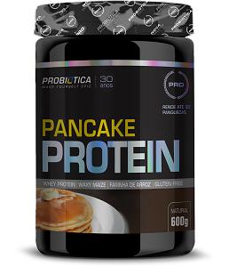 Pancake Whey Natural 600g - Probiótica