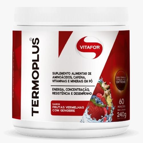 Termo Plus Vitafor - Frutas Vermelhas com Gengibre - 240g