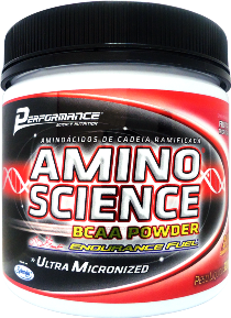 Amino Science BCAA Powder Frutas Tropicais - Performance Nutrition - 300g