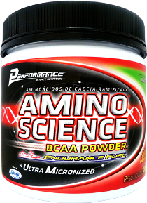 Amino Science BCAA Powder- Limão - Performance Nutrition - 300g