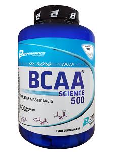 BCAA Science Mastigável - Performance Nutrition - Coco - 200 Tabletes