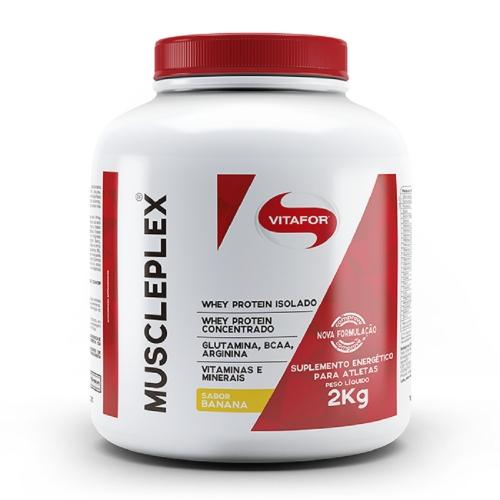 Gainer Muscle Plex 2Kg Morango - Vitafor