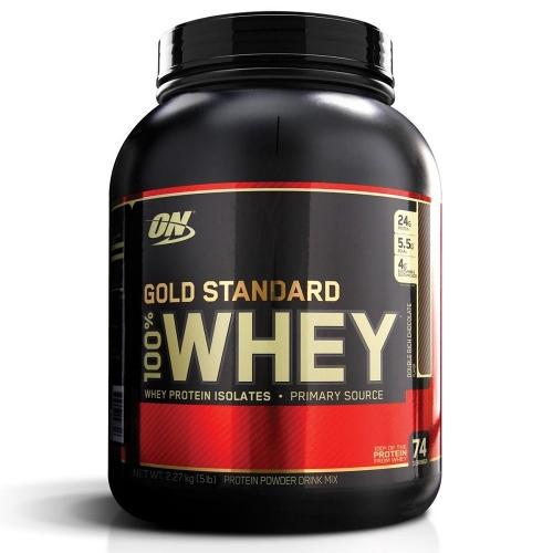 100% Whey Protein Gold Standard sabor Mocha Cappucino (2.270g) - Optimum Nutrition