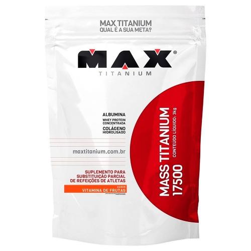 Mass Titanium 17500 Vitamina de frutas - 3kg
