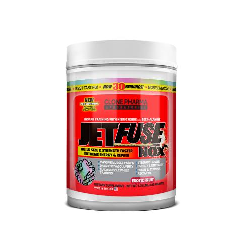 Jetfuse NOX Sabor Frutas Exoticas  (615g) - Clone Pharma