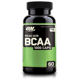 BCAA  Optimum Nutrition / BCAA 1000 Optimun Nutrition - 60 Cápsulas