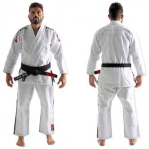 Kimono Koral Classic Branco - Tamanho A3