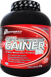 Serious Performance Gainer - Performance Nutrition - Morango - 3 Kg