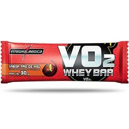 VO2 Whey Bar IntegralMedica Frutas Vermelhas c/ Iogurte- 30 g